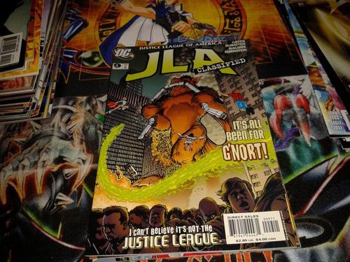 dc jla classified #9 comic nuevo en ingles.