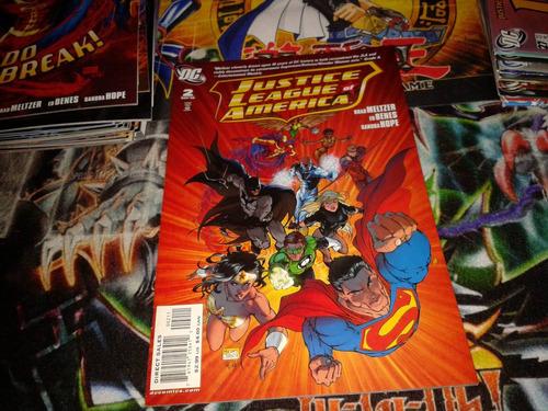 dc justice league of america #2 2007 comic nuevo en ingles.