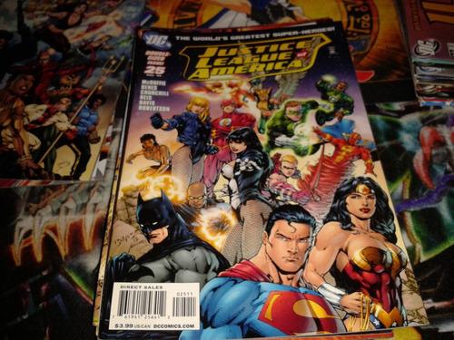 dc justice league of america #25 2009 comic nuevo en ingles.