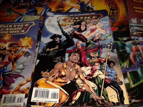 dc justice league of america #26 2009 comic nuevo en ingles.