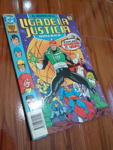 dc liga de la justicia comics libro dos 1994