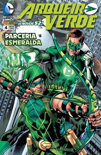 dc - os novos 52 arqueiro verde # 4