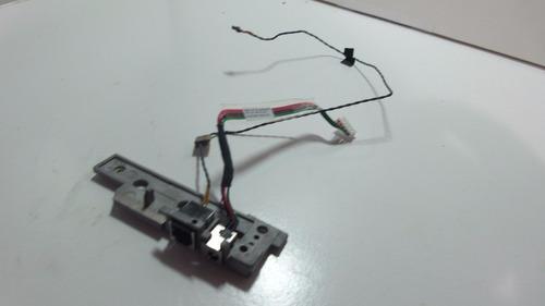 dc power jack e rj11 cabos para notebook hp pavilion dv2000