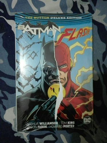 dc rebirth the button batman/flash