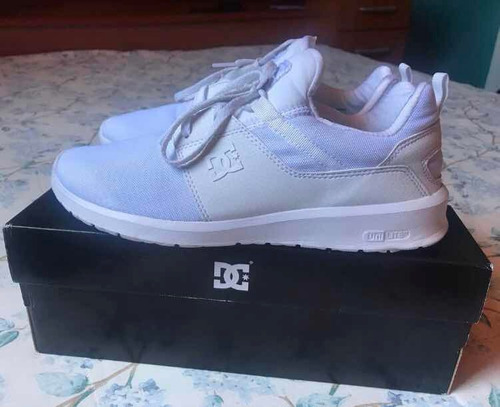 dc shoes heathrow white
