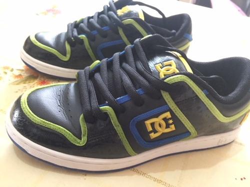 dc shoes men's black manteca 3 skate tenis ken block