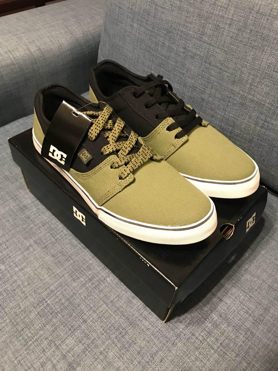 75ea8a2961f49 Dc Shoes Tonik Tx Olive Green