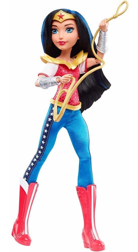 dc superhero girls mujer maravilla wonder woman muñeca dc co