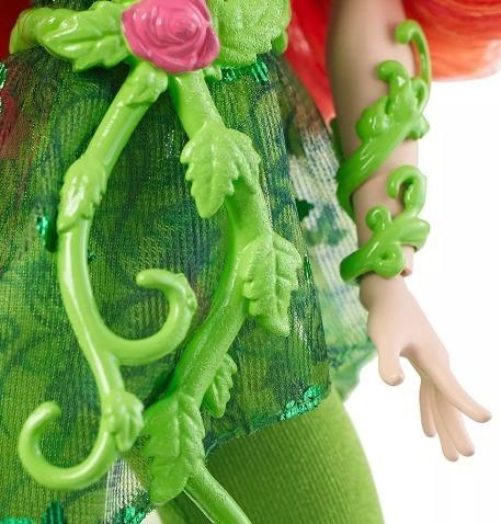 dc superhero girls poison ivy muñeca figura acción
