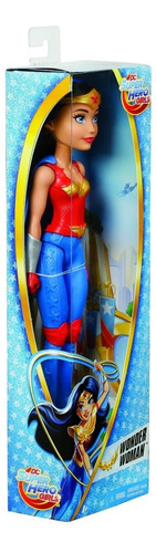 dc superhero girls wonder woman mujer maravilla ref. dmm23