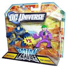 dc universe action league mini figura 2pack batman vs. el j