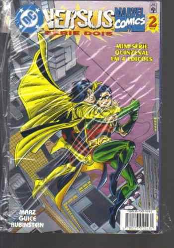 dc versus marvel comics nº 2 - série 2 - ed abril jovem