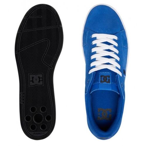 dc zapatillas hombre astor azul francia