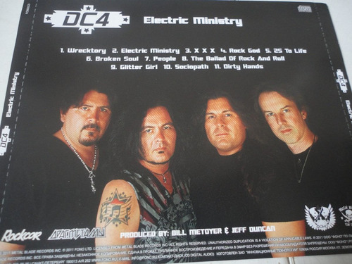 dc4 c/ rowan robertson (ex- dio) electric ministry (2011)