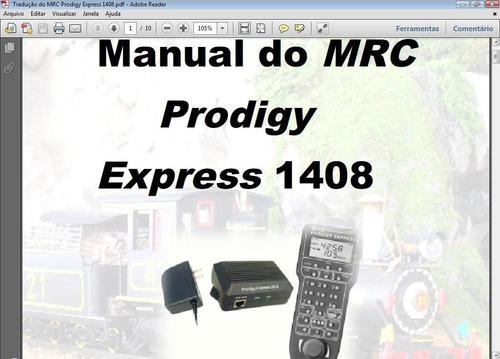 dcc - tradução do manual do mrc prodigy express 1408