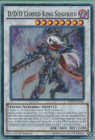 Super Rare Near Mi 3x D//D//D Cursed King Siegfried 1st Edition SDPD-EN042