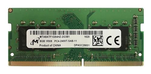 ddr4 8gb memoria ram pc4-2400t laptop varias marcas