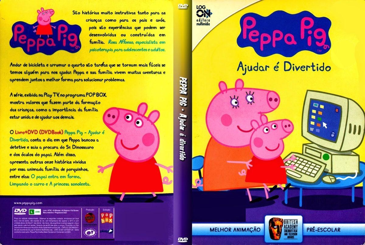 ddvs peppa pig português 12 dvds 170 episódios. Carregando zoom.