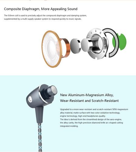 de am12 auricular 3.5mm 4pin auricular con control3*honor