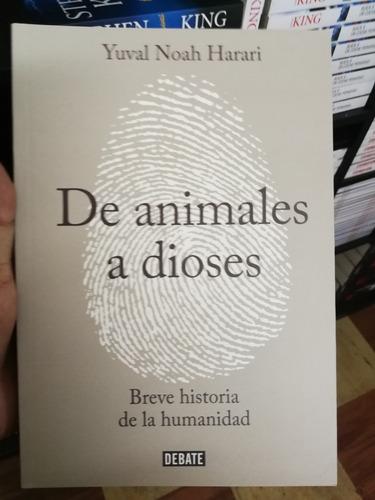 de animales a dioses de yuval noah harari libro nuevo