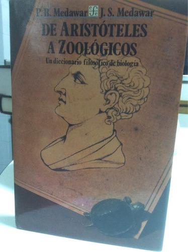 de aristóteles a zoológicos- p. medawar