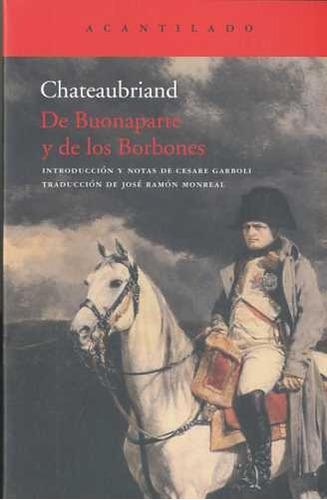 de buonaparte y de los borbones de chateaubriand