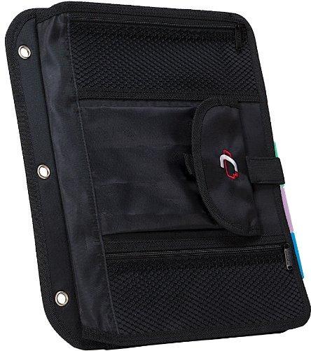 de casos y se locker accesorio 5-tab archivo, negro, el cac