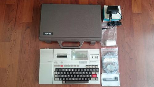 de colección  epson hx-20 la primera computadora portátil