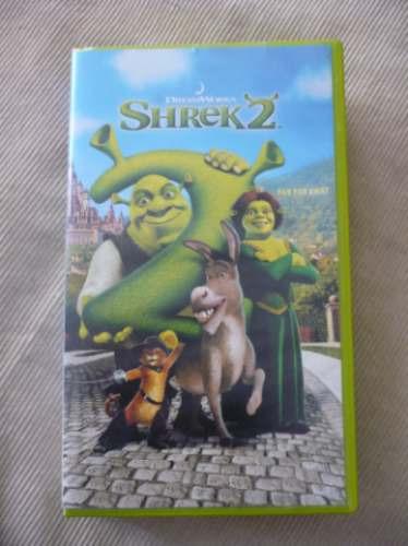 de colección!!! shrek 2 !!! video original!!!