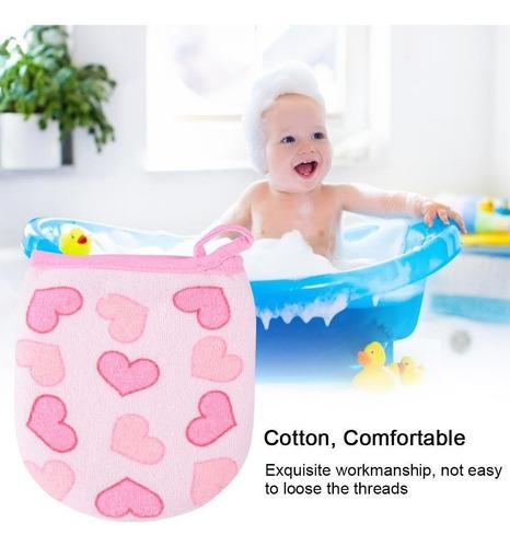 de dibujos animados manoplas modelo de algodón bebé baño duc