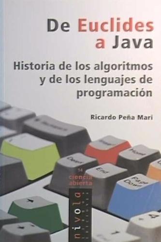 de euclides a java. historia de algoritmos y programación