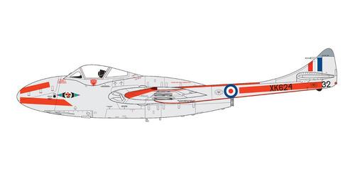 de havilland vampire t.11 / j-28c kit airfix 1/72 petrohobby