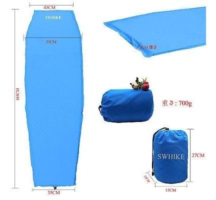 de la nave al aire libre durmiendo cojín colchón mat camping