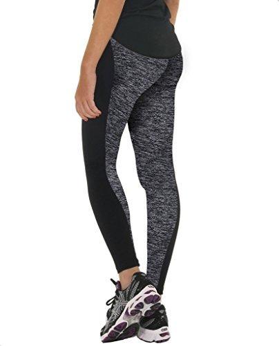 de las medias de las mujeres manstore active yoga pantalone