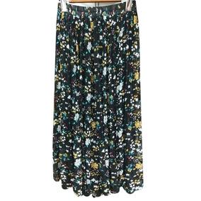8ad22baf0 De Las Mujeres Casual Impresión Faldas Maxi Largo Gasa Fald