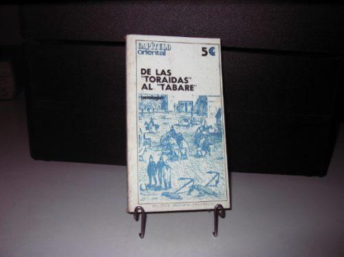 de las  toraidas  al  tabare  coleccion capitulo oriental