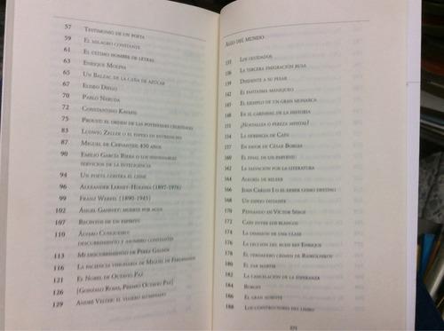 de lecturas y algo del mundo - álvaro mutis - seix barral