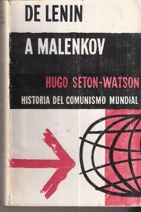 de lenin a malenkov  hugo seton - watson 1955