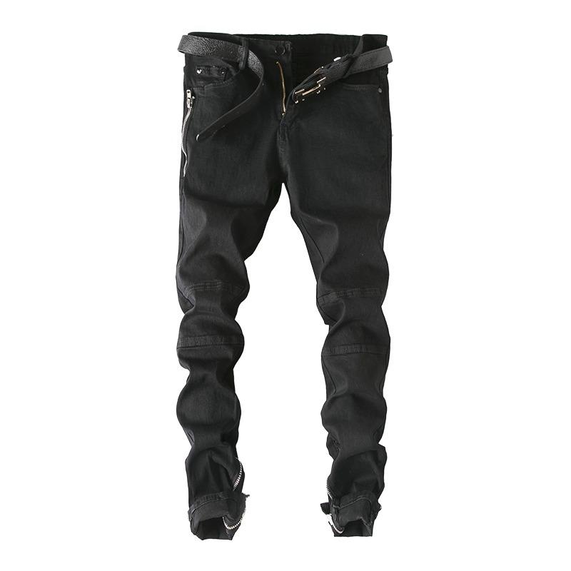 Pantalones Rotos Los Hombres De La Con Parte Las Inferior qpFnwES
