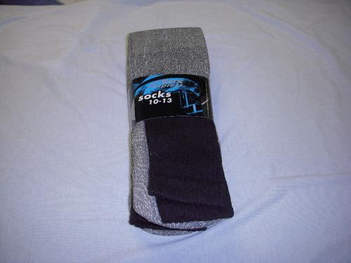 de los hombres térmico calcetines negro - tamaño 10-13 cas