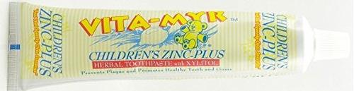 de los niños de zinc más a base de plantas de pasta de dient