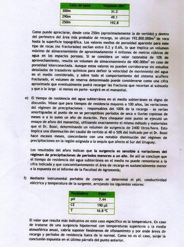 de los últimos campos en villa serrana con permiso de extracción de agua del uruguay