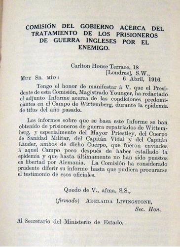 de maeztu inglaterra en armas 1916 primera guerra no envio