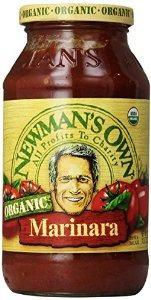 de newman propia pasta orgánica salsa marinara 23,5 oz