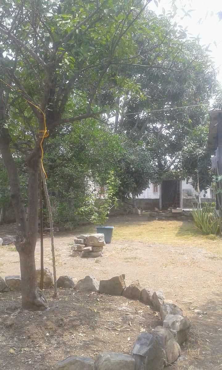 de oportunidad, casa con terreno grande y árboles frutales