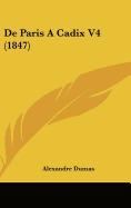 de paris a cadix v4 (1847), alexandre dumas