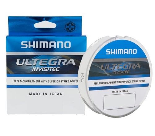 de pesca nylon shimano ultegra invisitec 0,285mm x 150mts 8,