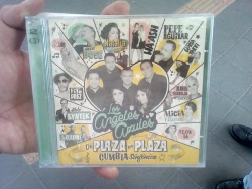 de plaza en plaza cumbia sinfonica (cd + dvd) angeles azules