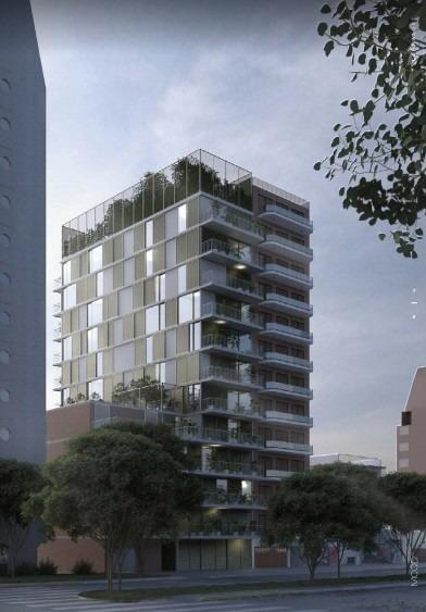 de pozo. 1 ambiente 28 m2, balcon terraza. nuñez | financiac