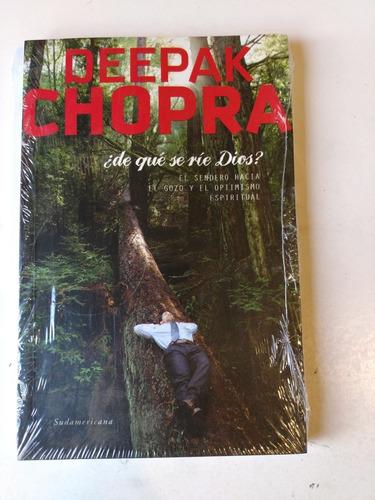 de que se rie dios deepak chopra